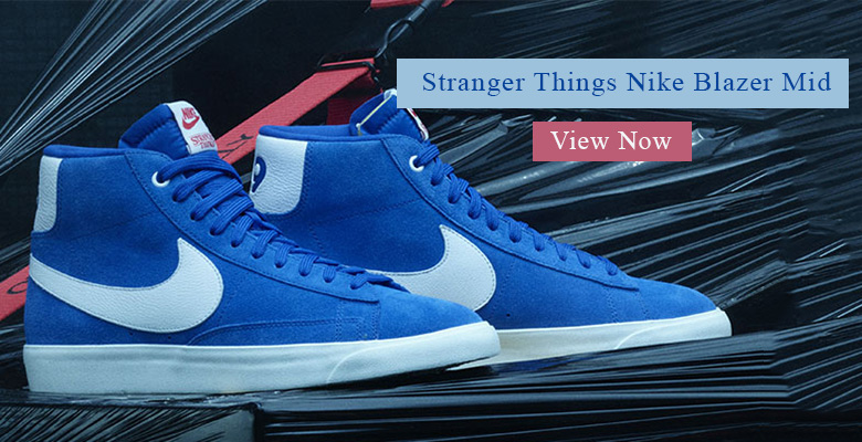 Stranger Things Nike Blazer Mid