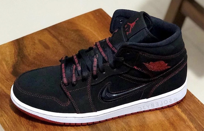The Air Jordan 1 Fearless Gets A Velvet Black Colourways ft