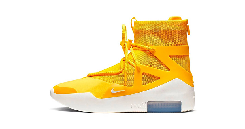 The Nike Air Fear Of God 1 'Yellow' Finally Confirmed Their Release 01