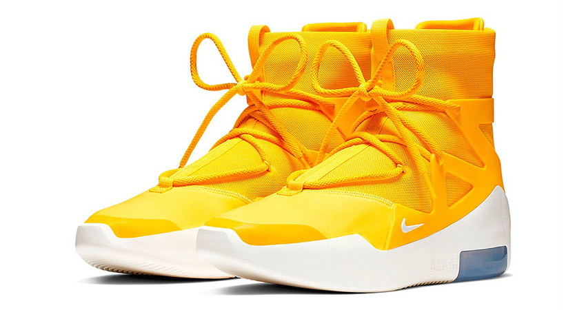 The Nike Air Fear Of God 1 'Yellow' Finally Confirmed Their Release 02