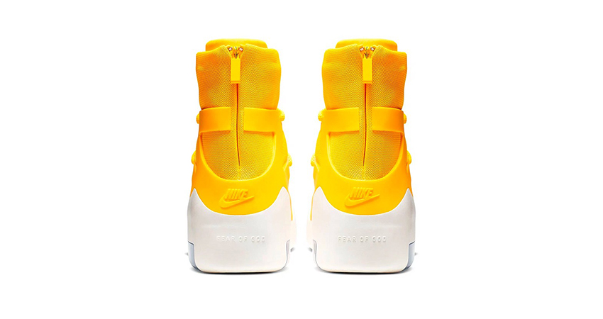 The Nike Air Fear Of God 1 'Yellow' Finally Confirmed Their Release 04