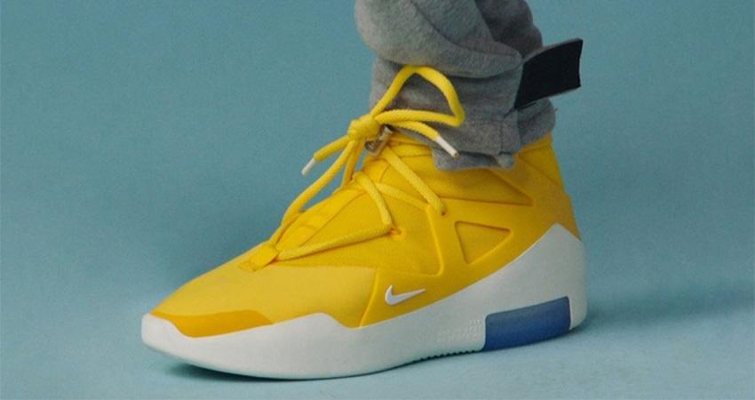 Reunión tono Umeki  The Nike Air Fear Of God 1 'Yellow' Finally Confirmed Their Release –  Fastsole