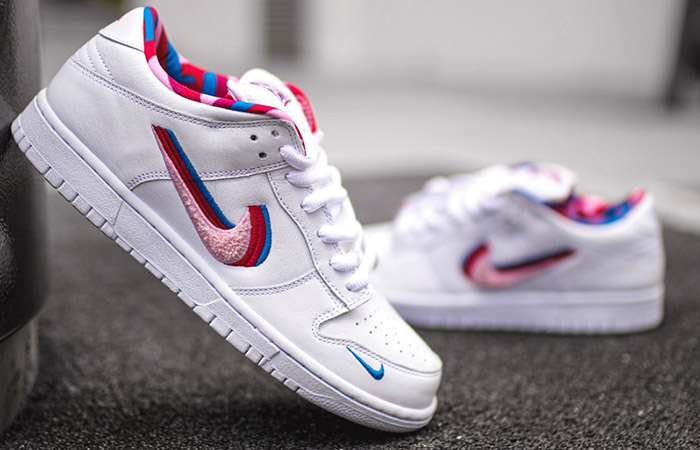 The Rare Images Leaked Parra Nike SB Blazer Low ft
