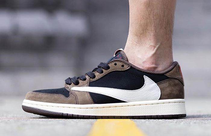 brand new a423e 66823 Travis Scott Nike Air Jordan 1 Low Cactus Jack CQ4277-001