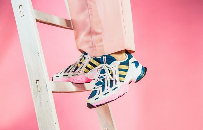 adidas EQT Gazelle Aqua Navy EE5149 on foot 01