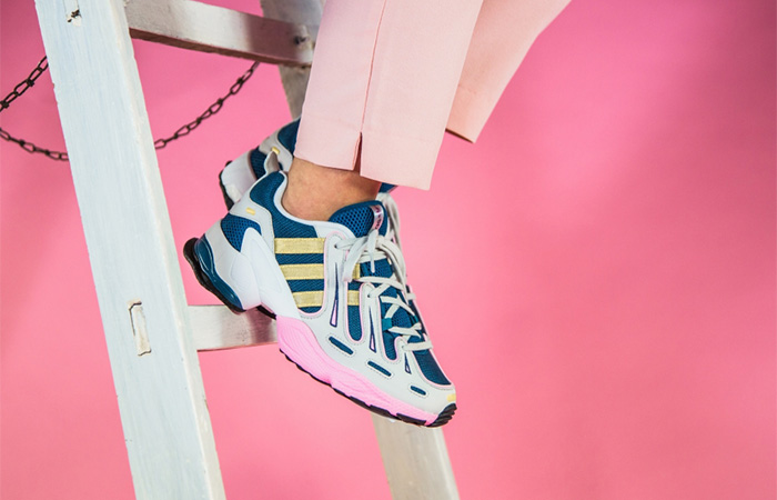 adidas EQT Gazelle Aqua Navy EE5149 on foot 02
