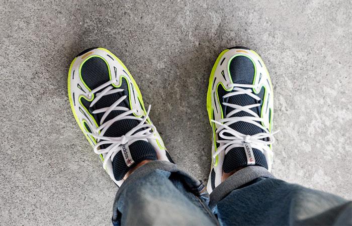 adidas EQT Gazelle Lucid Yellow EE7742 on foot 03