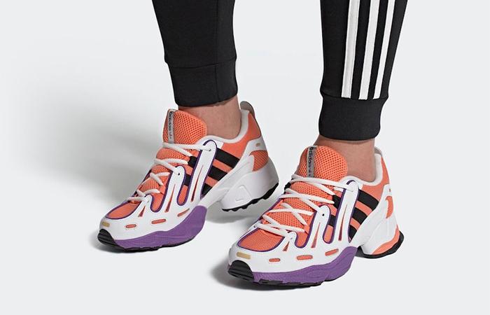 adidas EQT Gazelle Midnight Orange EE7743 on foot 01