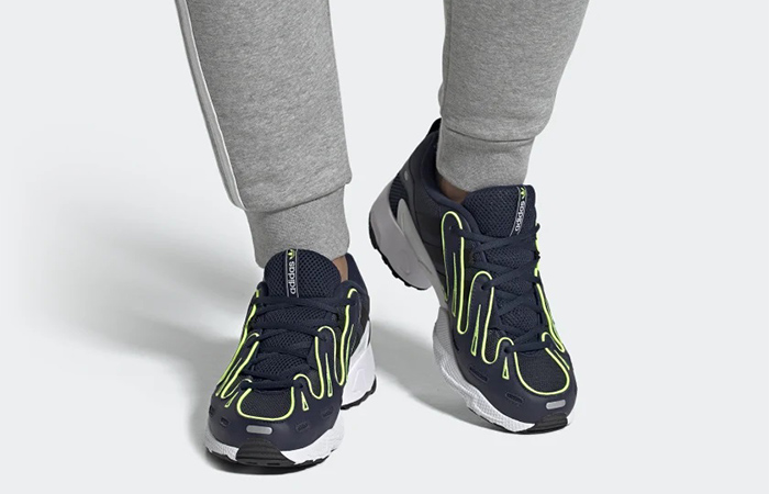 adidas EQT Gazelle Nevy EE4771 on foot 01