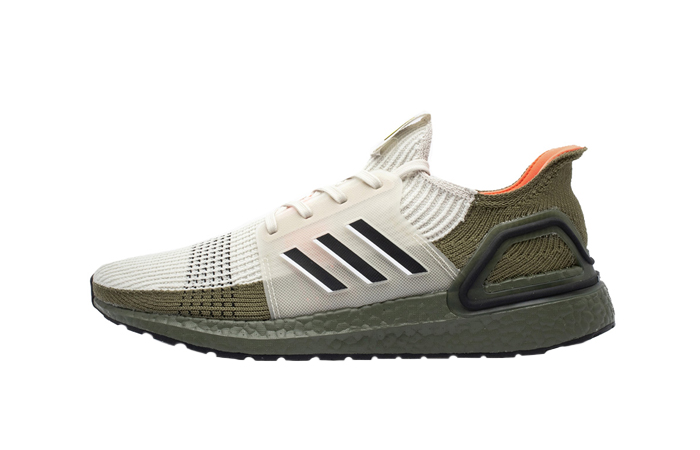 adidas Ultra Boost 19 Grey Olive G27510 01