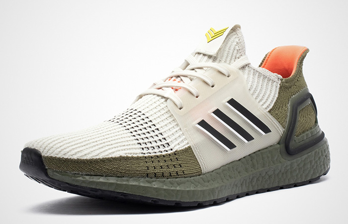 adidas Ultra Boost 19 Grey Olive G27510 02