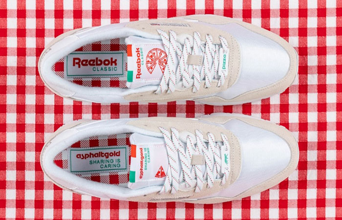 A Pizza Themed Classic Nylon from asphaltgold and… Sneaker