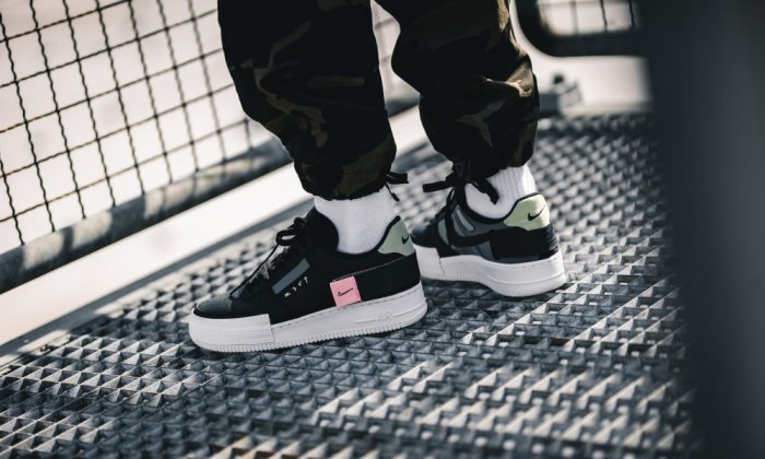 Nike Air Force 1 Low Type Black CI0054 001