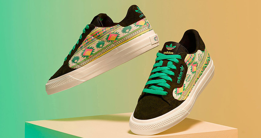AriZona And adidas Collaborates For A Colourful Floral Continental 80 Collection 02