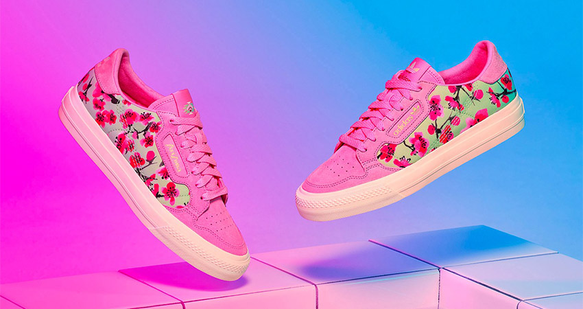 AriZona And adidas Collaborates For A Colourful Floral Continental 80 Collection 04