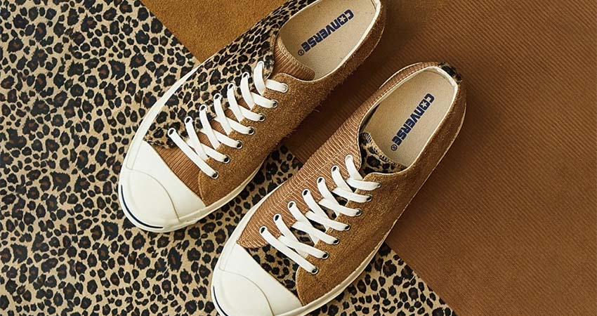 BILLY'S and Converse Reunited For A Leopard-Printed Jack Pursell