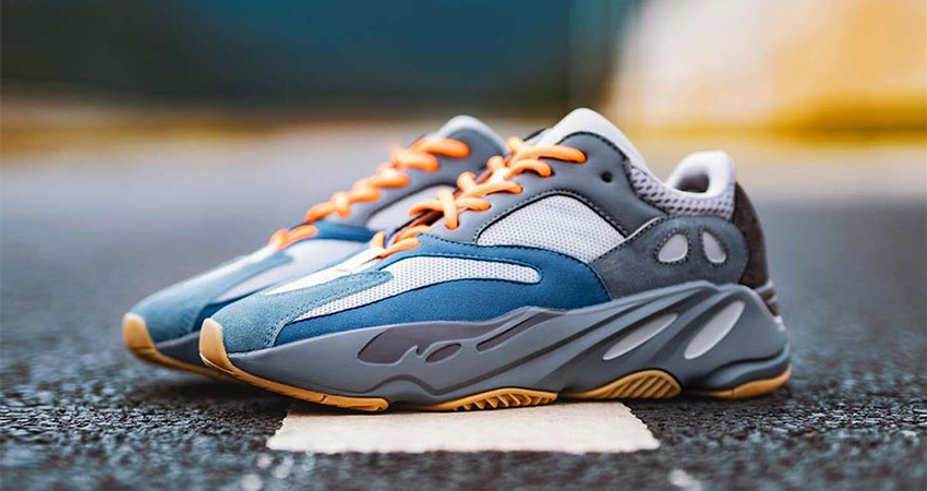 Best Look Yet At The adidas Yeezy 700 Teal Blue 01