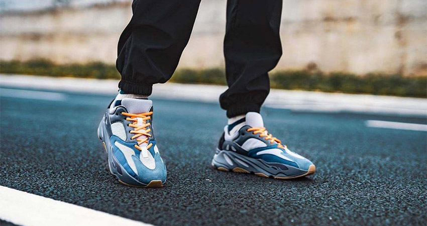 Best Look Yet At The adidas Yeezy 700 Teal Blue 02