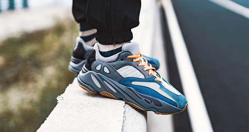 Best Look Yet At The adidas Yeezy 700 Teal Blue 03