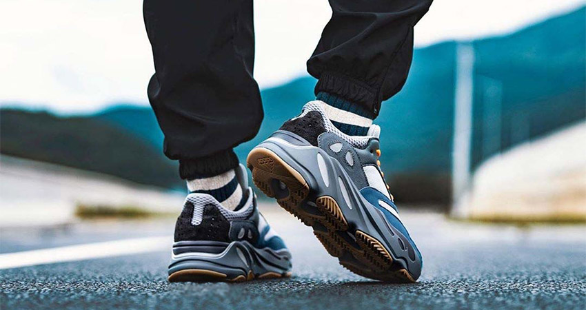 Best Look Yet At The adidas Yeezy 700 Teal Blue 04
