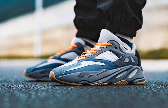 Best Look Yet At The adidas Yeezy 700 Teal Blue ft