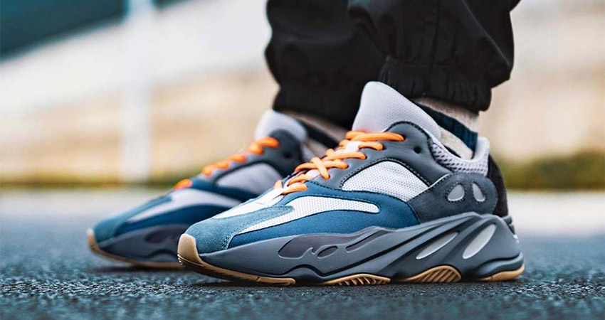 Best Look Yet At The adidas Yeezy 700 Teal Blue