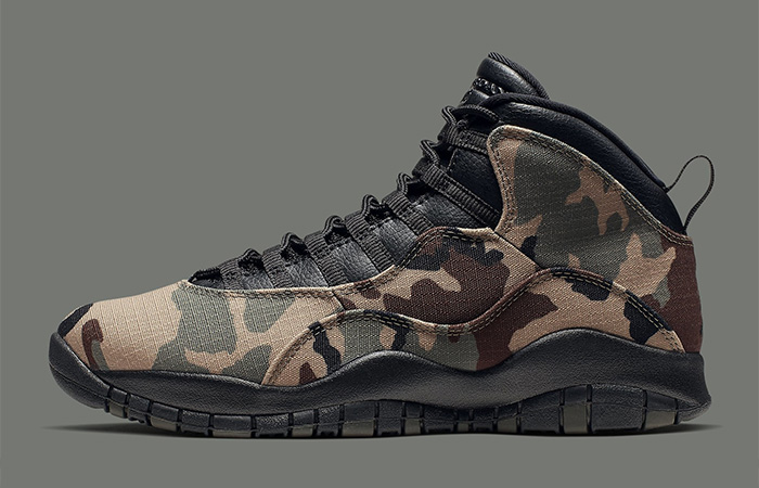 Detailed Look At The Upcoming Nike Jordan 10s Camo ft