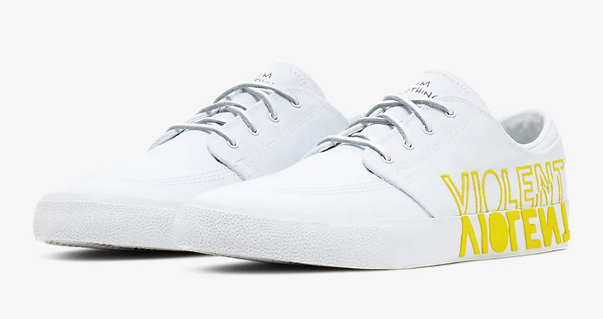 Don't Miss Out The New Nike SB Zoom Stefan Janoski Tour Yellow 01
