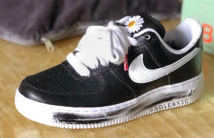 First Look at the PEACEMINUSONE Nike Air Force 1 Floral Black ft