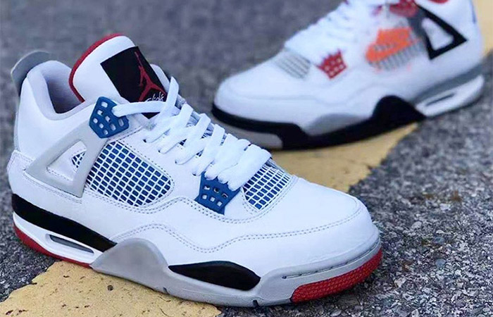 Have A Closer Look At The Upcoming Air Jordan 4 'What The' ft