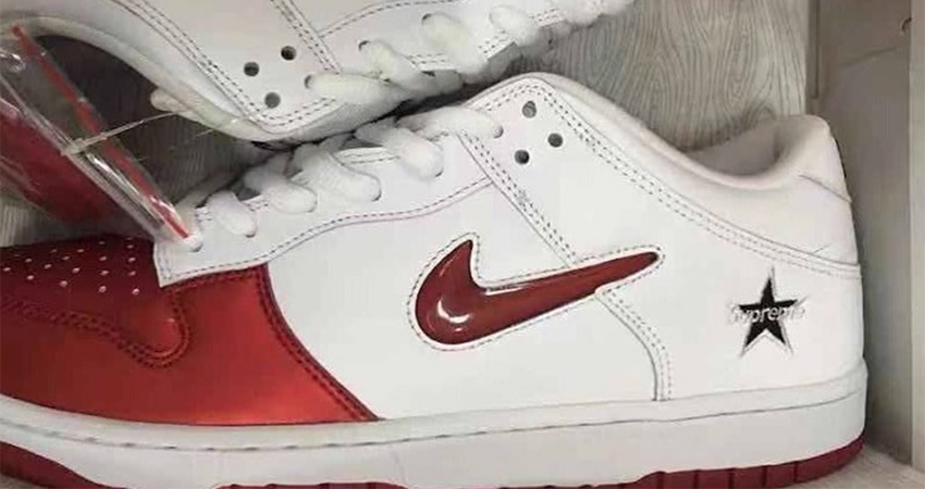 Here Is The First Look At The Supreme Nike SB Dunk Low 01