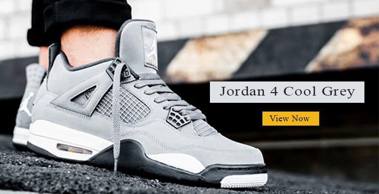 Jordan 4 Cool Grey slider