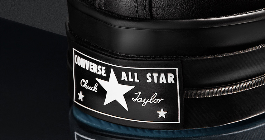 NElGHBORHOOD And Converse Coming With Leather Core Black Chuck 70 And Jack Purcell 04