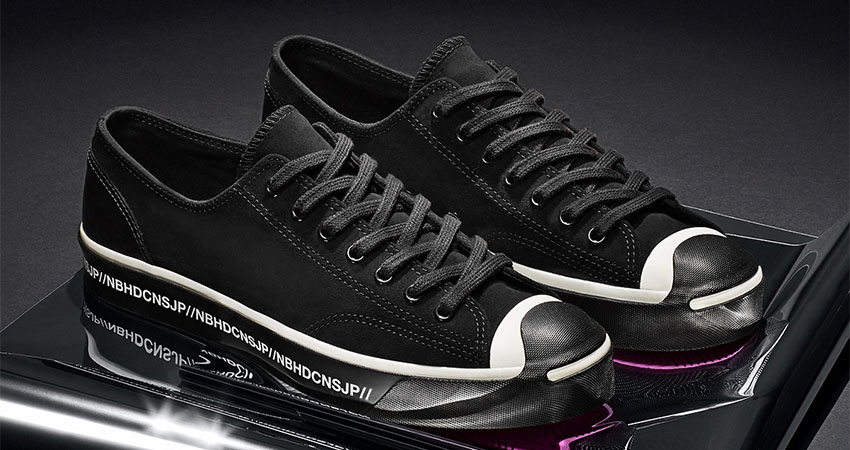 NElGHBORHOOD And Converse Coming With Leather Core Black Chuck 70 And Jack Purcell 05
