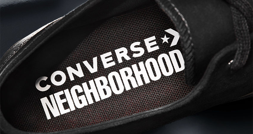 NElGHBORHOOD And Converse Coming With Leather Core Black Chuck 70 And Jack Purcell 07