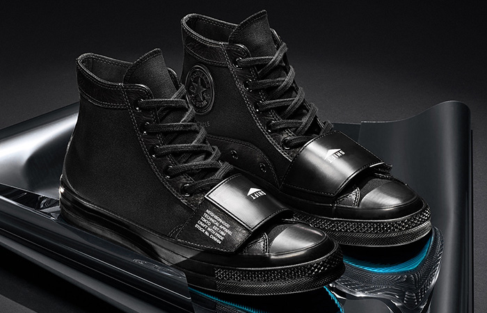 NElGHBORHOOD And Converse Coming With Leather Core Black Chuck 70 And Jack Purcell ft