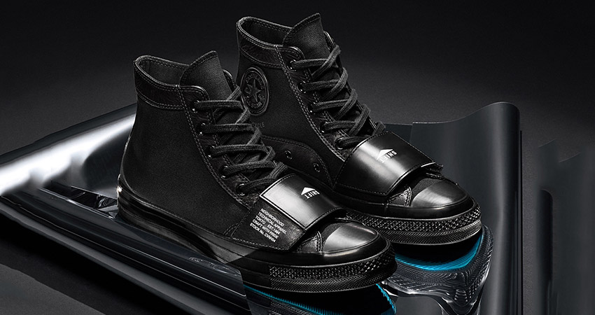 NElGHBORHOOD And Converse Coming With Leather Core Black Chuck 70 And Jack Purcell