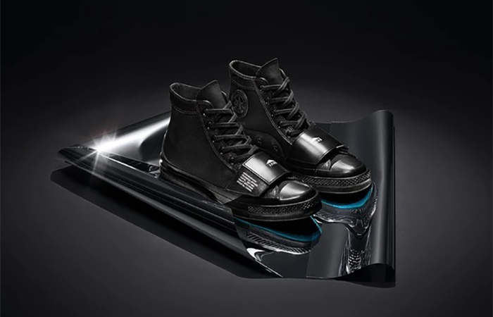 Neigborhood Converse Chuck 70 High Moto Black 165603C 02