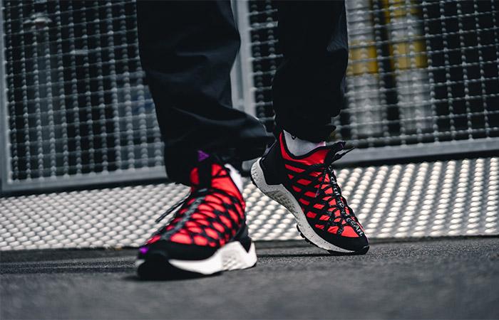 Nike ACG React Terra Gobe Bright Crimson BV6344-600 on foot 01