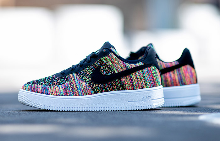 Nike Air Force 1 Flyknit 2.0 Gets A Multi Coloured Look ft