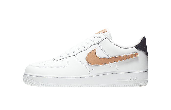 Nike Air Force 1 Low Removable Swoosh White CT2253-100 01