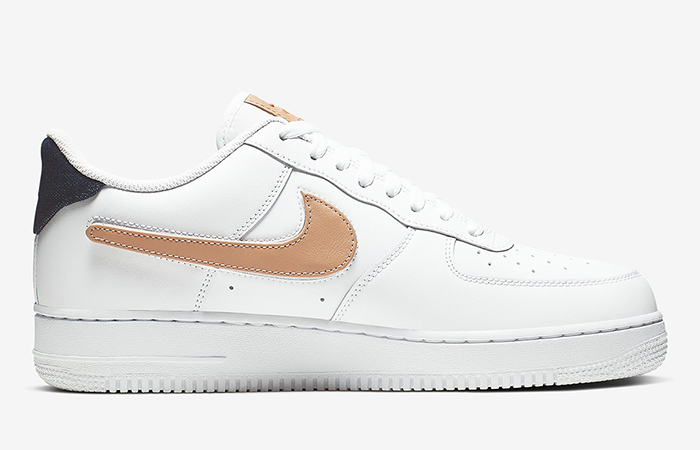 Nike Air Force 1 Low Removable Swoosh White CT2253-100 03