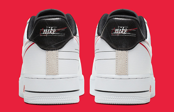 Nike Air Force 1 Script Swoosh Pack White Red 05