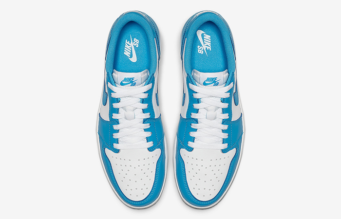 Nike Air Jordan 1 Low SB UNC Sky Blue CJ7891-401