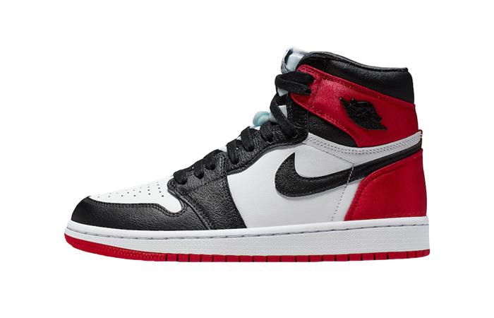 Nike Air Jordan 1 Satin Black Toe Universty Red CD0461-016 01