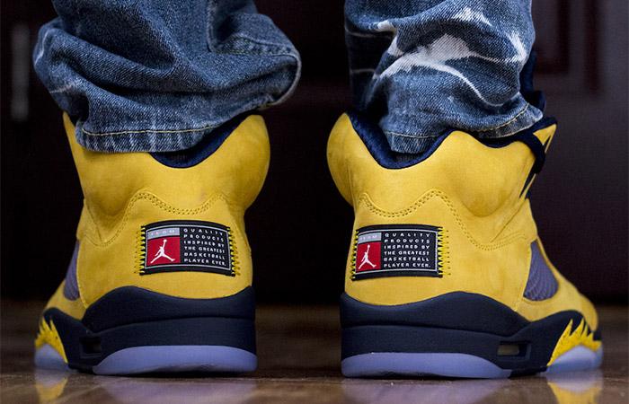 Nike Air Jordan 5 SP Inspire CQ9541-704 on foot 03