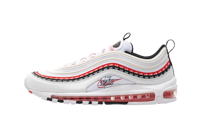 Nike Air Max 97 Script Swoosh Pack White Red 01
