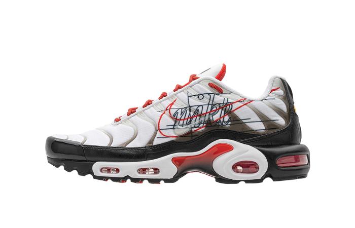 Nike Air Max Plus Script Swoosh Pack White Red 01