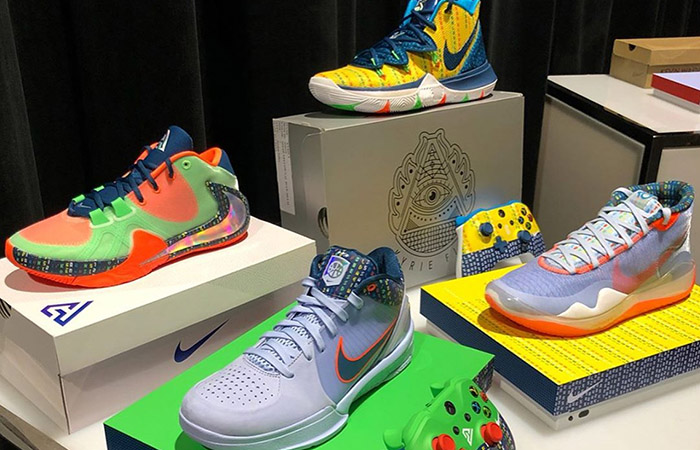 Nike Basketball Releasing Colorful PE Pack For 2019 Skills Academy ft