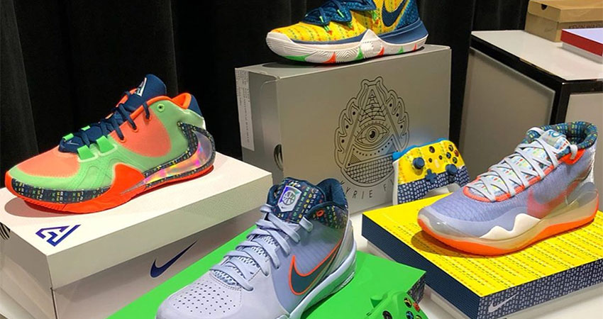 Nike Basketball Releasing Colorful PE Pack For 2019 Skills Academy